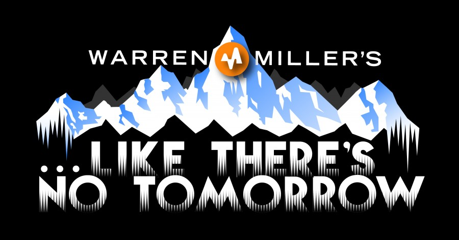 logo for like there's no tomorrow